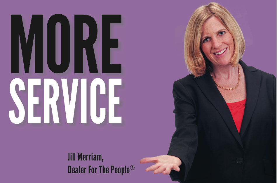 Jill Merriam customer service matters
